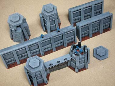 See more details about this Wahammer 40K building